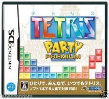Used DS Tetris Party Premium NINTENDO JAPANESE IMPORT