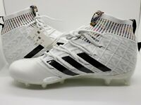 Adidas Freak Ultra Boost Football Lax Midtop Cleats -White - EE4665 - SZ-11
