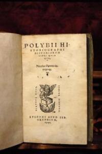 POLYBII HISTORIOGRAPHI HISTORIARUM LIBRI QUINQUE NICOLAO PEROTTO INTERPRETE., PO
