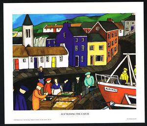 Auctioning The Catch/Fishing/Irish Art Group/Fine Print/Martin Laverty/Ireland