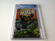 WIZARD ACE EDITION HULK 181 CGC 9.8 WHITE PAGES ACETATE COVER MARVEL COMICS