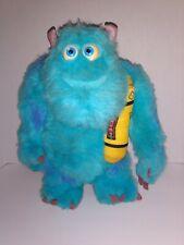 "2001 Hasbro Walt Disney Monsters Inc Talking Glowing Bedtime Sulley Plush 13""..."