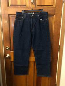 EUC Men's Levi's 550 Relax Fit Denim Blue Jeans Size 38 x 29