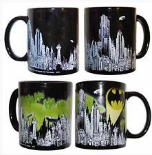 Batman Skyline Color Changing Heat Changing Logo Mug - Loot Crate Exclusive