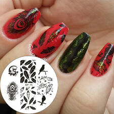 Nagel Schablone BORN PRETTY Nail Art Stamp Stamping Template Plates BP75