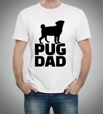 Men's T Shirt Pug Dad design Dog