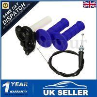 Pit Dirt Bike Quick Action Throttle Grip Twist Cable 90 110cc 125cc PITBIKE
