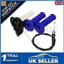 Pit Dirt Bike Quick Action Throttle Grip Twist Cable 110cc 125cc PITBIKE QUAD