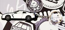 Nissan GTR R35 Key Anello White