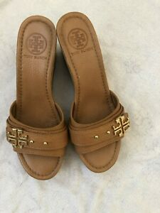 Tory Burch Platform Shoes BROWN SIZE 7.5 M