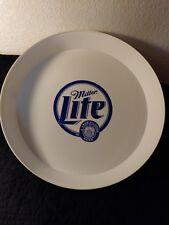 Miller Lite Beer Hard Plastic Drink Serving Tray