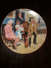 """Gorham """"American Family Collection"""" """"Family Portrait"""" by Michael Hagel Plate 8.5"""