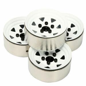 4pcs RC Heavy Metal 1.9'' Beadlock Wheels rims Fit 1.9 Rock Crawler Tires Tyre