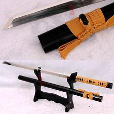 Japanese Samurai Ninja Sword 9260 Spring Steel Ninjato Very Sharp Straight Blade