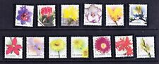 GAMBIA 2004 Flowers SG4728/40 - set of 13 - superb unmounted mint. Catalogue £48