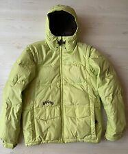 Burton Ronin Down Jacket. Detachable Sleeves.Size M. Toxic Green. Snowboard/Ski