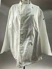2x Sussex Chef Jacket/Coat/2X/Port West/ White/Long sleeve/ C836/100% Cotton Nwt