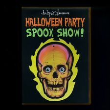 HALLOWEEN PARTY & SPOOK SHOW DVD! GHOSTS GHOULS & SCARY TRAILERS 2 HOURS!