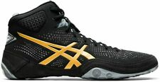 Asics Men's Dan Gable Evo 2 Wrestling Shoes 7, Black/Pure Gold