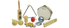 Percussion Set Wooden Kids Childrens Toddlers Music Instruments Toys Band Kit