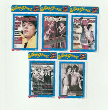 (5) Used Rare Phone Cards The Rolling Stones