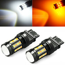 JDM ASTAR 3157 Dual/Bi Color Switchback Bulbs LED Turn Signal Light Amber White