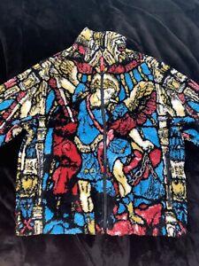 Supreme Saint Michael Fleece Jacket Size Small