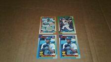 1990 Topps Baseball Lot of 4 Cards Frank Thomas RC Sammy Sosa RC (2) Griffey Jr.
