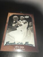 Upper Deck Greats Of The Game Lebron James Base Card Cavs Lakers All Star