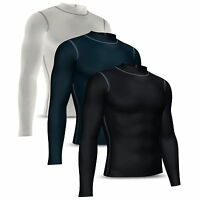 Mens Compression Base layer Shirt Full Sleeve Skin tight Top Long body armour