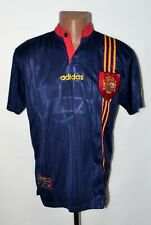 SPAIN NATIONAL TEAM 1996/1998 AWAY FOOTBALL SHIRT JERSEY ADIDAS SIZE S ADULT