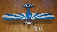 RC Modellflugzeug - Holzbauweise - inkl. Servos - gebraucht