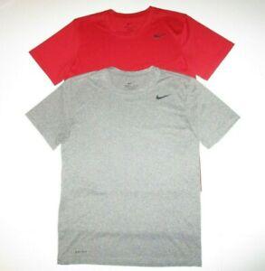 Nike Dri-Fit Legend 2.0 Shirts (2) Men's S Red / Gray