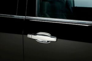 Chrome Door Handle Covers 15-17 Chevy Silverado LD 2 d w/o pass. side key Deluxe