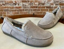 Vionic Aluminum Grey Suede Corinne Indoor Outdoor Orthodic Slipper Loafer New