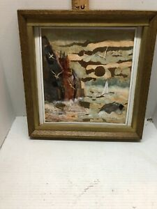 Mixed Media Art Signed Sister Mary McCarthy Must See
