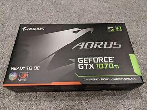 Gigabyte AORUS GeForce GTX 1070 TI 8GBGVN107TAORUS8GD