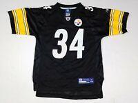 Rashard Mendenhall #34 Pittsburgh Steelers NFL Reebok Youth Kids Jersey L 14-16