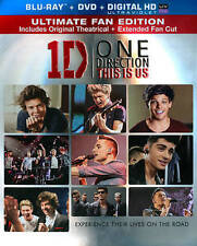 One Direction: This Is Us (Blu-ray/DVD/UltraViolet, 2013, 2-Disc Set) - NEW!!