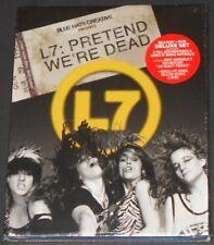 L7 pretend we're dead USA BLU-RAY + DVD COMBO PACK new sealed NIRVANA helmet