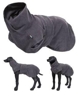 Hundebademantel LIGHT GRAU kleine/ mittlere / große Hunde  XS - XL Bademantel