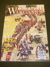 MINIATURE WARGAMES - MALTA INVASION - AUG 1997 # 171