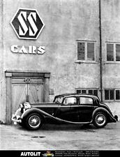 1940 Jaguar SS Saloon Factory Photo ua5108-9FDVFL