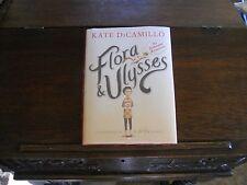 FLORA AND ULYSSES, Kate Di Camillo, SIGNED 1st/1st 2013 HCDJ (Newbery winner)