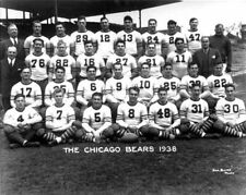 1938 CHICAGO BEARS NFL FOOTBALL HOF TEAM 8X10 PHOTO PICTURE