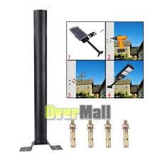Solar Led Outdoor Street Light Post Pole Wall Mount Light Lamp Lighting Fixture