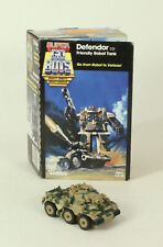 Vintage Go Bots Defendor 1984 Tonka With Original Card