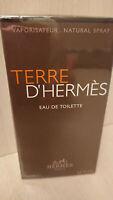 Terre D´HERMES 100 ml toilette Pour Homme Spray Men EDT VAPO