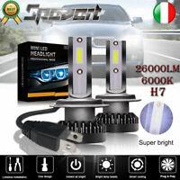 2pcs H7 110W LED Lampadine del Faro Kit Mini Bulbi  Luci 6000K Bianco COB Chip