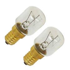 Tempomatic Oven Lamps Cooker Light Bulbs15W SES E14 230V Pack of 2